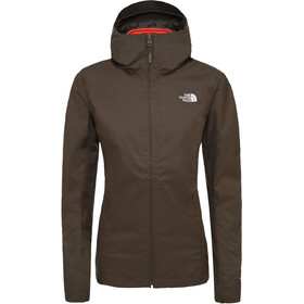 The North Face Tanken Triclimate Giacca Donna, new taupe green/radiant orange